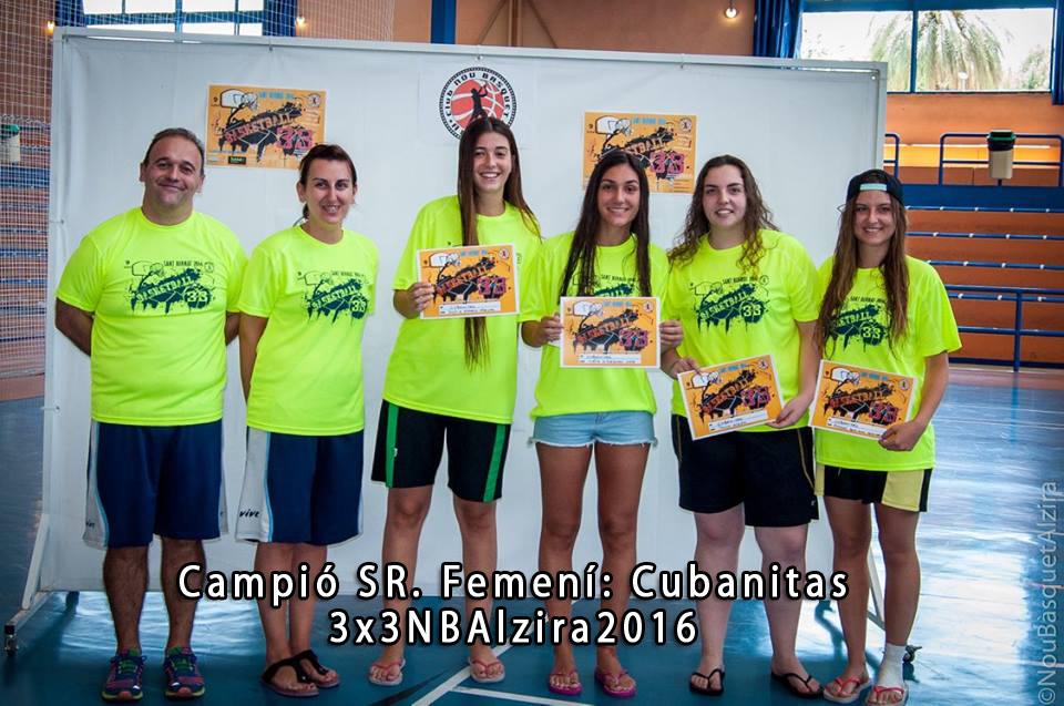 Les campiones de la edició 2016.