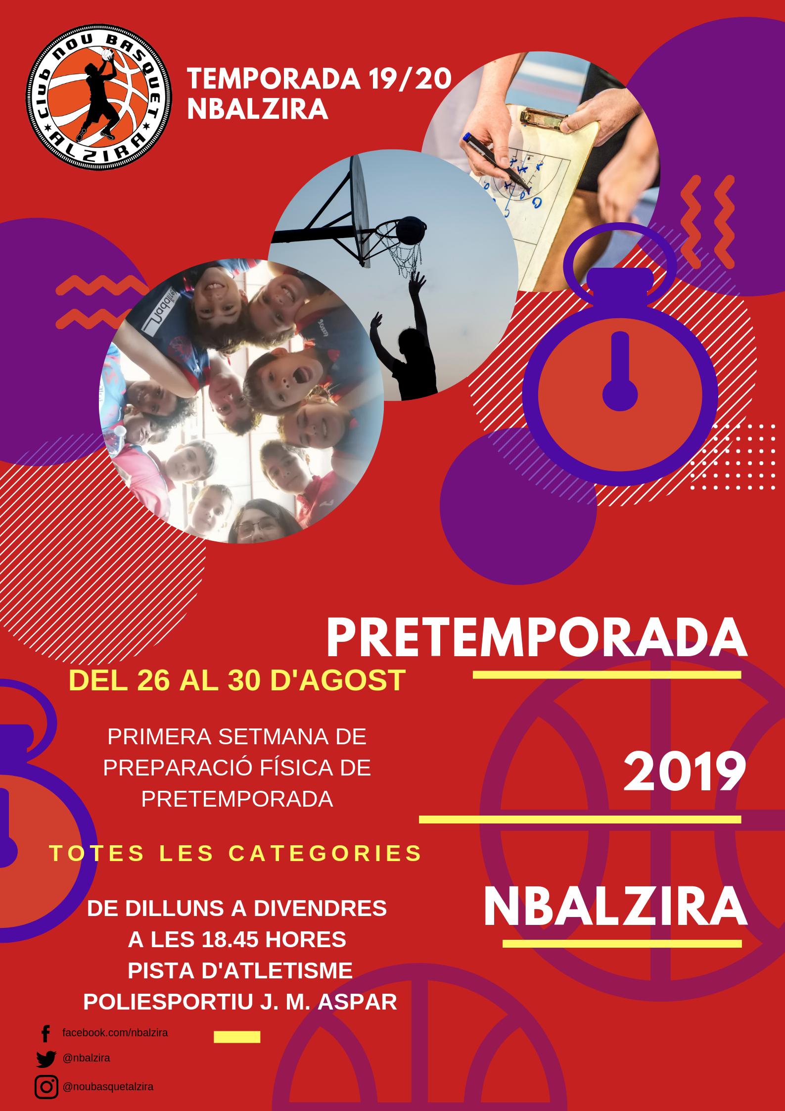 Pretemporada 2019
